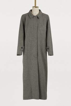 Miu Miu Long wool coat