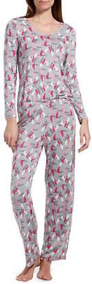 Hue Copy Cat Two-Piece Pyjama Set