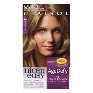 Clairol Nice'n Easy Age Defy Permanent Hair Colour 8A Medium Ash Blo 1 pack