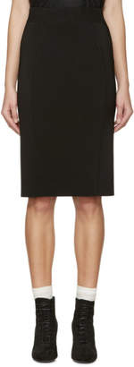 Burberry Black Knit Skirt