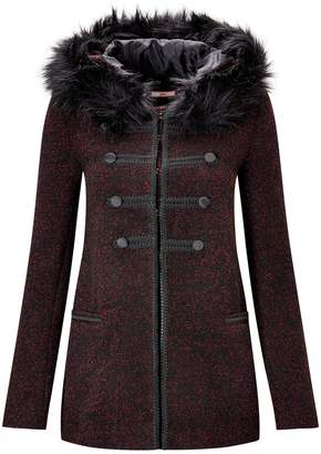 4e5e2aa1bb Black Fur   Shearling Coats For Women - ShopStyle UK