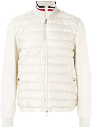 Moncler padded sweatshirt jacket