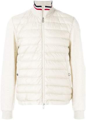 Moncler padded sweatshirt jacket