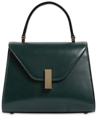 Valextra Mini Iside Polished Leather Top Handle