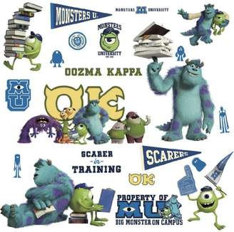 Disney RoomMates Children's Repositonable Wall Stickers Monsters University, Multi-Color