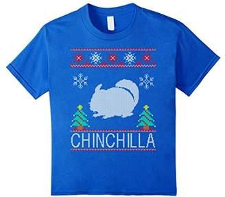 chinchilla Christmas ugly shirt