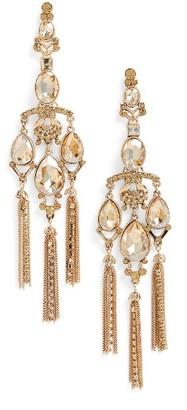 Women's Tasha Shoulder Duster Earrings $48 thestylecure.com