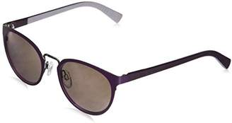 Cole Haan Women's Ch7031 Metal Round Sunglasses