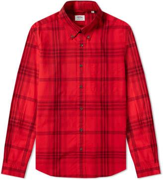 Aspesi Button Down Madras Check Shirt