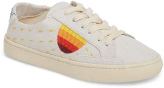 Soludos Embroidered Low Top Sneaker