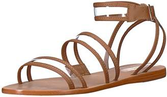 Kaanas Women's Olinda See-Through Strappy Flat Sandal