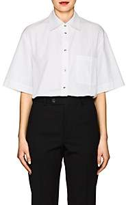 Helmut Lang Women's Cotton Poplin Blouse-White