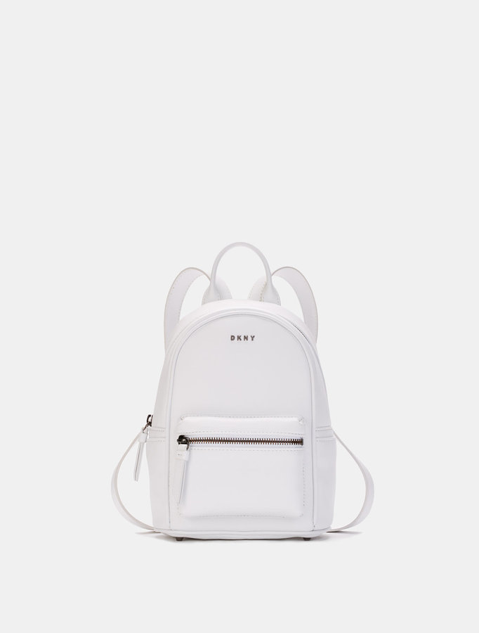 DKNYHeavy Nappa Leather Mini Backpack