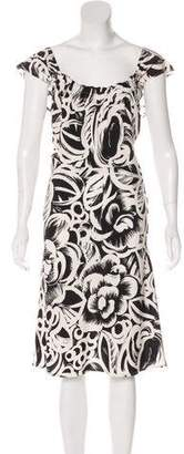 Gucci Silk A-Line Dress w/ Tags