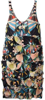 Givenchy 'Crazy Cleopatra' printed technical georgette dress