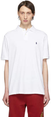 Polo Ralph Lauren White Mesh Logo The Iconic Polo