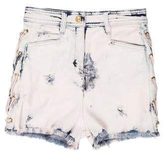 Balmain High-Rise Mini Shorts w/ Tags