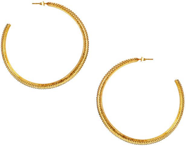 Gogo Philip Classic Chunky Hoop Earrings