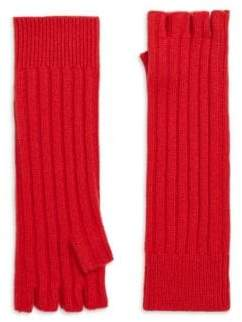 Saks Fifth Avenue Cashmere Fingerless Gloves