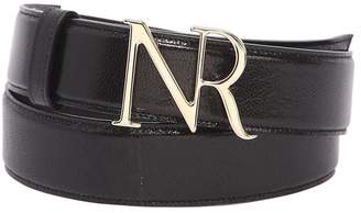 Nina Ricci 30mm Logo Leather Belt