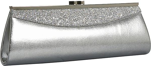 Coloriffics Handbags Glitter Metallic Clutch