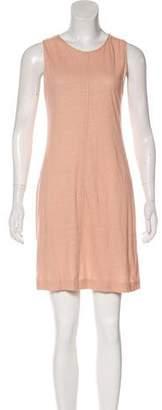 Chloé Linen-Blend Mini Dress