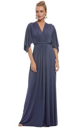 Long Caftan Dress - Slate