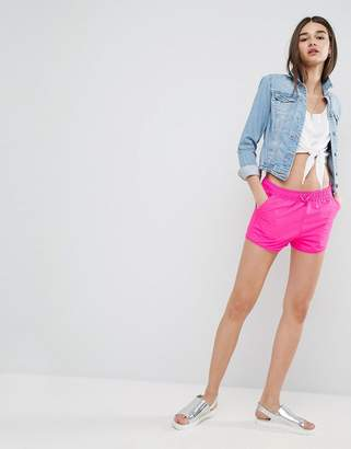 Asos DESIGN Runner Shorts with Curved Hem