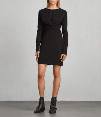 AllSaints Paloma Long Sleeve Dress