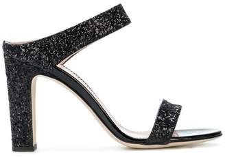 Giuseppe Zanotti Design glitter strap sandals