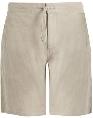 Onia Max drawstring linen shorts