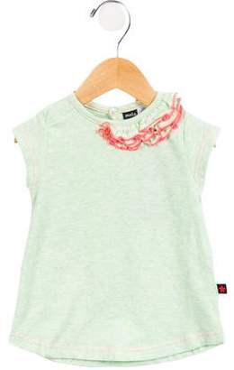 Molo Girls' Short Sleeve Top w/ Tags