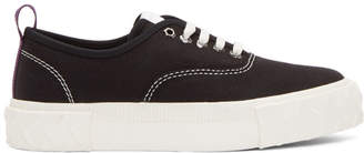 Eytys Black Canvas Viper Sneakers