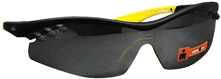Foster Grant Iron Man Plastic Sunglasses Triumph Black