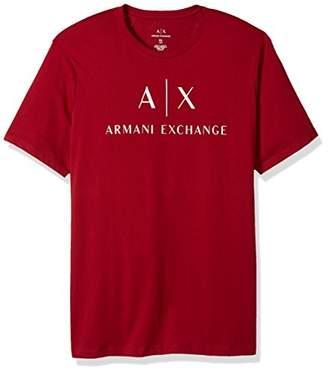 Armani Exchange A|X Men's Classic Crew Logo tee