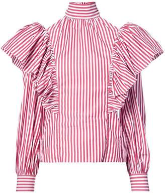 Jill Stuart Olga striped shirt