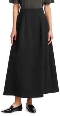 The Row Lantely Long Pleated A-Midi Skirt