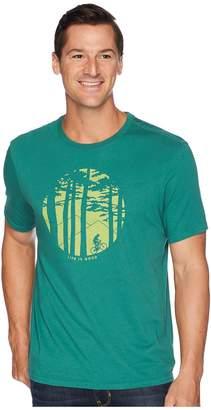 Life is Good Mountain Bike Woods Smooth T-Shirt Men's T Shirt