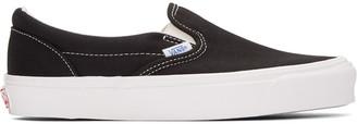 Vans Black OG Classic Slip-On Sneakers $60 thestylecure.com