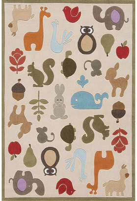 Asstd National Brand Lil Mo Rectangular Rug