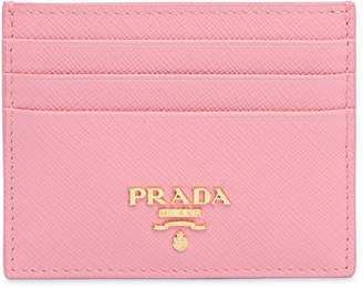 Prada Saffiano Leather Card Holder