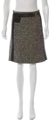 Mayle Wool Mini Skirt