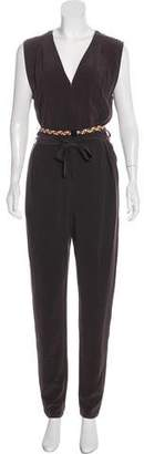Leroy Eres x Veronique Silk Sleeveless Jumpsuit w/ Tags