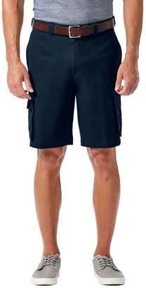 Haggar Big & Tall Stretch Cargo Shorts