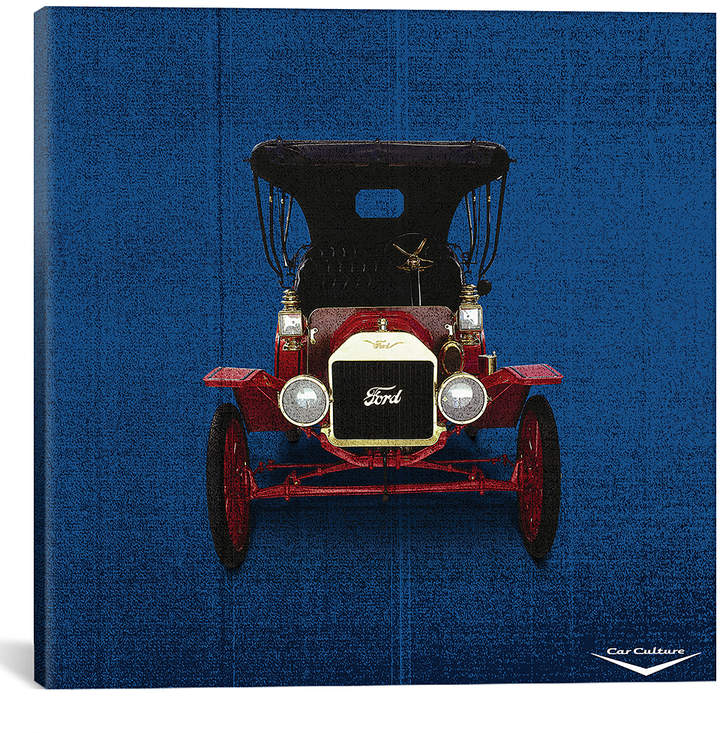 Car Culture 1909 Ford Model T Touring Wrapped Canvas