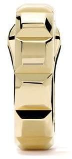 Boucheron 18kt yellow gold Quatre Clou de Paris single hoop earring