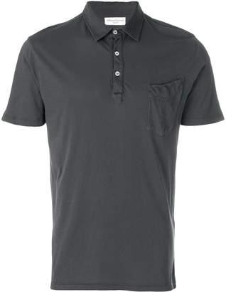 Officine Generale button polo shirt