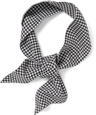 Houndstooth Skinny Scarf $32 thestylecure.com