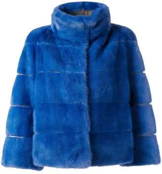 Arma short fur jacket