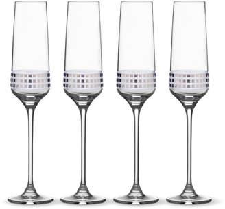 Mikasa Set of 4 Flute Glasses